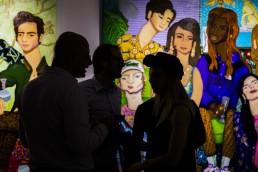 Art & Fashion Facility night in Barcelona