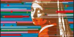 Ragazza con turbante, Zino, 100x100cm