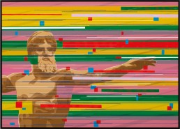 Zeus Artemision, Zino, 70x50cm